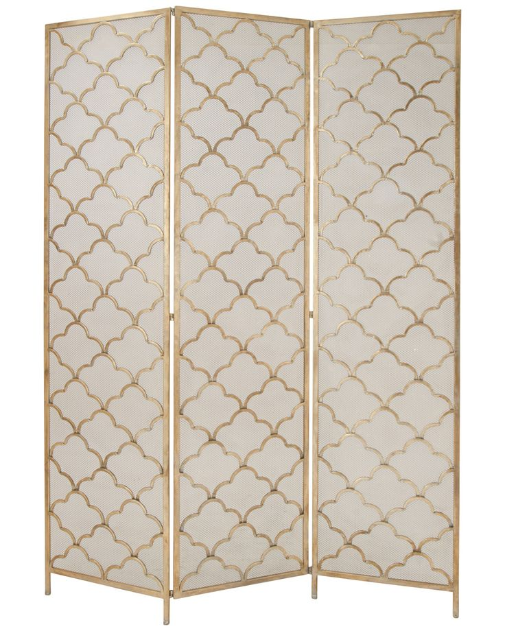spotted this metal wire 3panel screen on rue la la shop quickly divider screenpanel room
