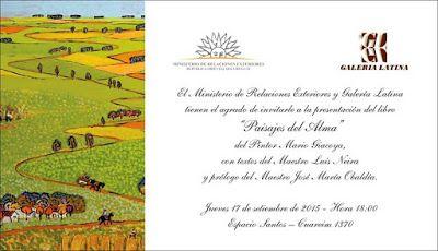 Giacoya: Invitación Ministerio de Relaciones Exteriores