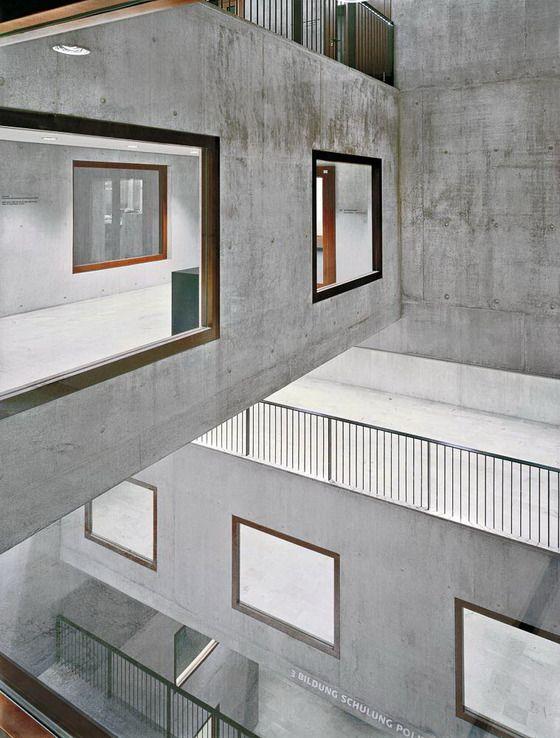 Hochschule In Zrich Modern ArchitectureArchitecture InteriorsSchool