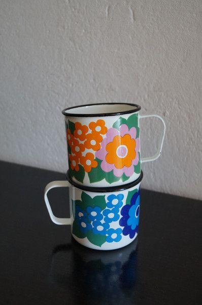 Vintage Tassen - Vintage Finel Tassen - ein Designerstück von Fr_T bei DaWanda