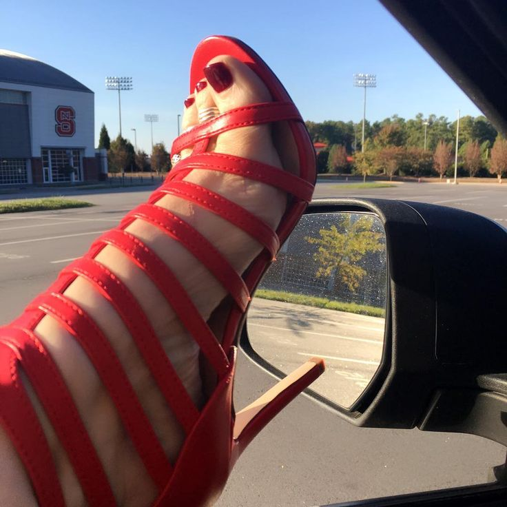 """686 Likes, 12 Comments - Jenny . Birthday July 28 (@mothroftoes) on Instagram: """"A huge thank you to @stillnotthatinterested for these beautiful red heels. They feel so good on!!!…"""""""