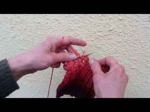 Mackókötés ( sálak ,sapkák,pulcsik kötéséhez) - YouTube
