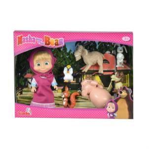 Jetzt Simba Mascha und der Bär: Mascha und ihre Tierfreunde 109301020 bei spar-toys.de günstig online kaufen und sparen.
