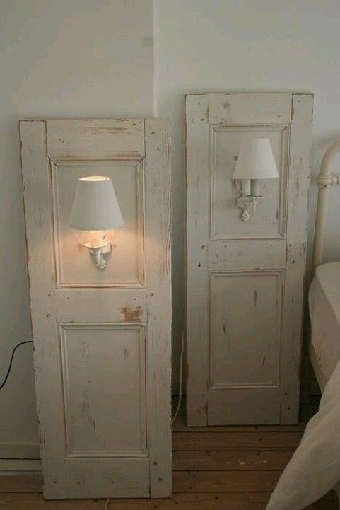 Another way to use old doors