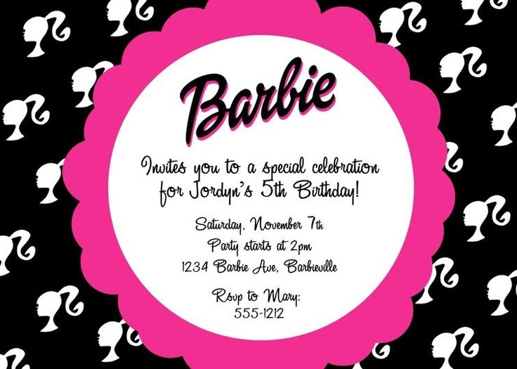 C'est La Vie Design: Barbie Themed Birthday Party