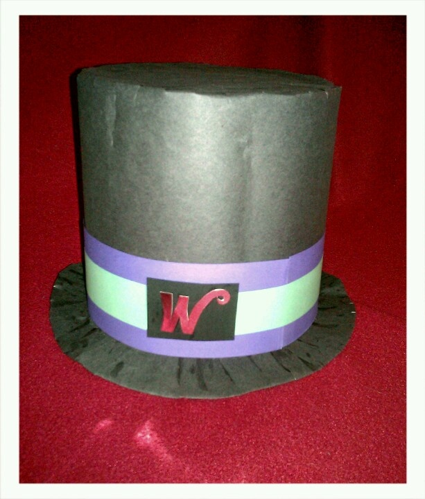 My Willy Wonka hat for Roald Dahl day.