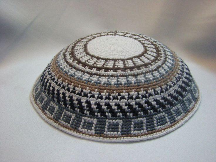 47 best Kippot Srugot images on Pinterest | Punto de crochet, Bar ...