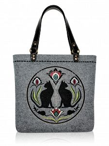 GOSHICO embroidered tote bag http://www.mybags.co.uk/goshico-embroidered-tote-bag-577.html