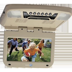 AVXMTG9S - 9 inch monitor with built-in DVD player (shale finish)