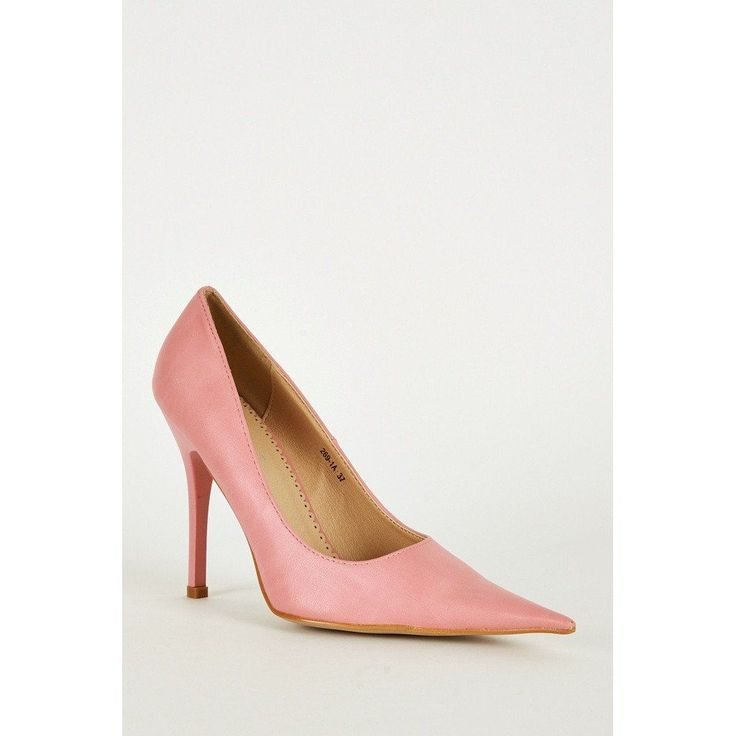 Pink Extra Pointed Stiletto Heels