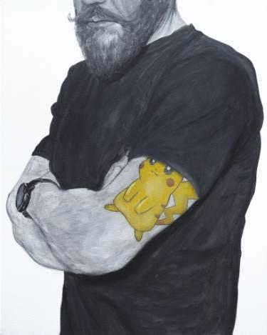 "Saatchi Art Artist sebastian sleczka; Painting, ""Pokémon"" #art"