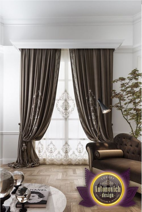 Exceptional Luxury Curtains Is The Final Touch In Creating Interiors. Luxury Antonovich  Design Studio Offers Best