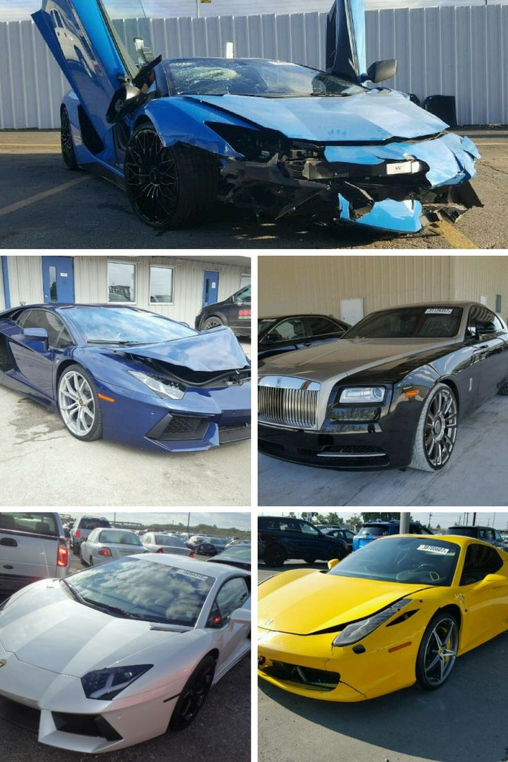 cars copart exotic highest vehicles bid salvage 100k sorting searched bids
