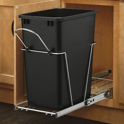 Rev-A-Shelf 8.75 Gallon Pullout Waste Container & Reviews | Wayfair