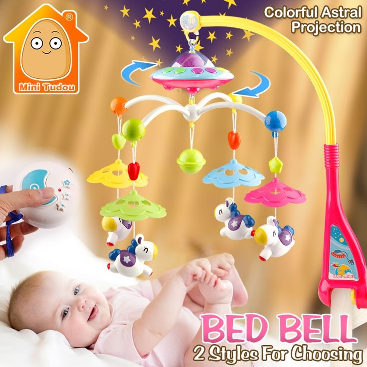 ==> [Free Shipping] Buy Best MiniTudou Baby Toys 0-12 Months Crib Mobile Musical Bed Bell With Animal Rattles Projection Cartoon Early Learning Kids Toy Online with LOWEST Price | 32716006837