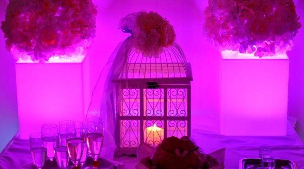 Zdjęcia z dekoracji światłem