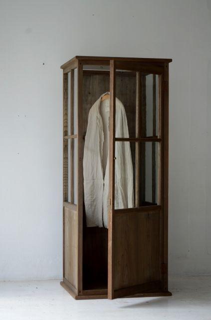 demode furniture. wooden wardrobe