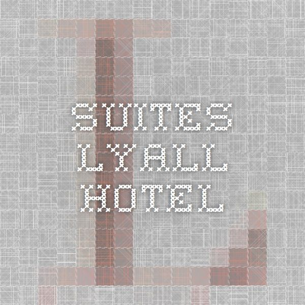 Suites - Lyall Hotel