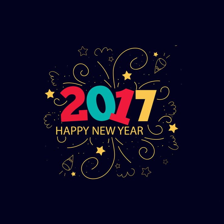 New Year 2017  - Tap to see more New Years 2017 wallpapers! | @mobile9