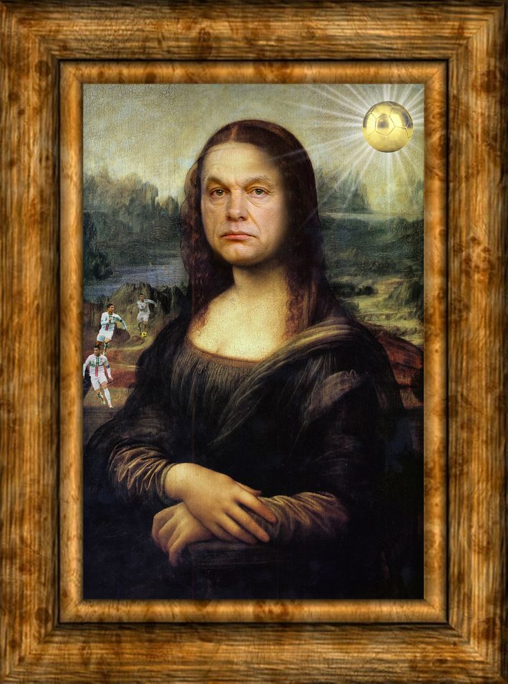 Orbán Viktor, Mona Lisa