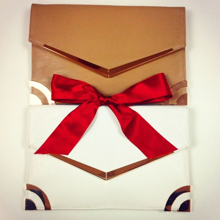 Clutches make simple but effective presents!