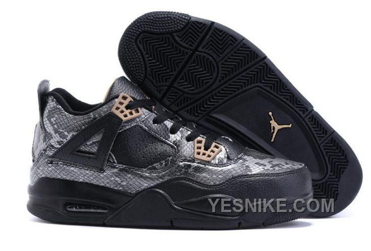 http://www.yesnike.com/big-discount-66-off-2016-air-jordan-4-black-snakeskin-black-grey-for-sale.html BIG DISCOUNT! 66% OFF! 2016 AIR JORDAN 4 BLACK SNAKESKIN BLACK/GREY FOR SALE Only 90.06€ , Free Shipping!
