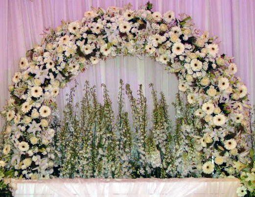 Diverse bruids arrangementen