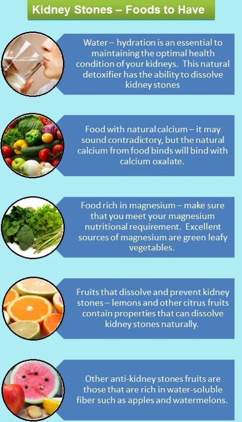 Kidney Stone Prevention Food List