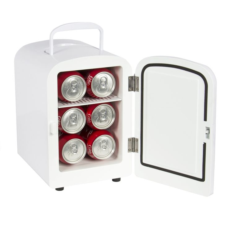 Felji Portable Mini Fridge Cooler and Warmer 4L AC & DC White