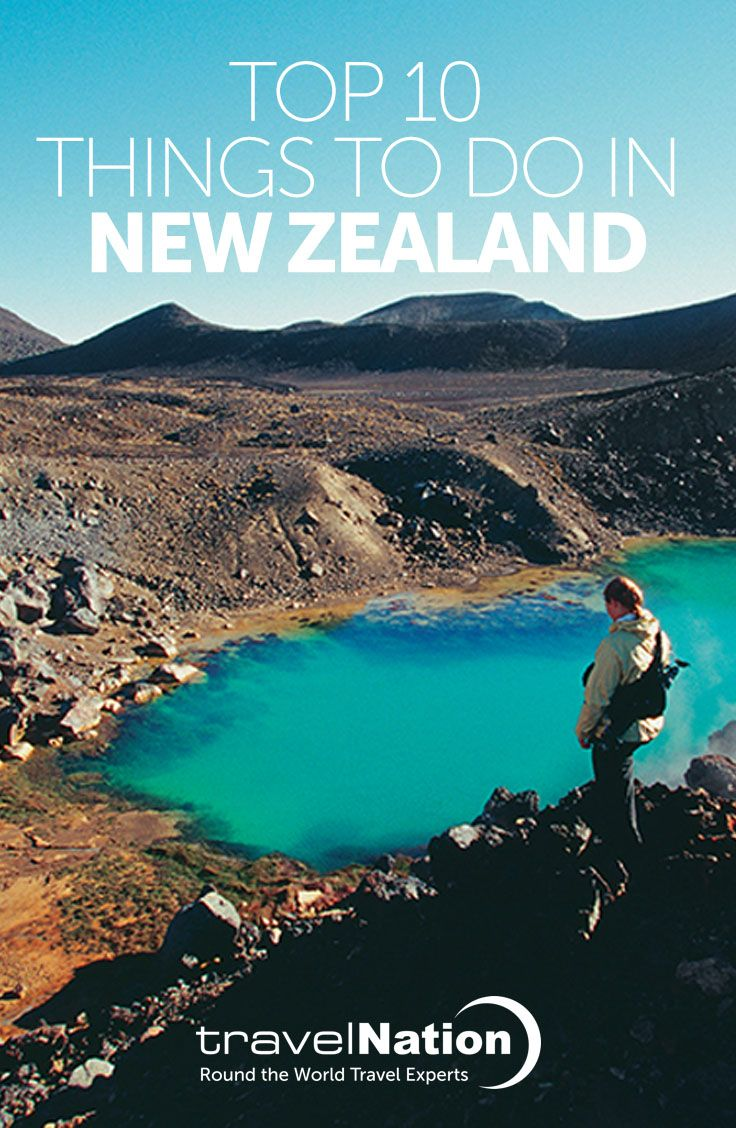 Ready for an action-packed New Zealand holiday? Go whale watching in Kaikoura, hike the Tongariro Crossing and get your adrenaline fix in Queenstown. Here's our Top 10 things to do in New Zealand!