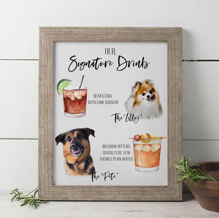 love the dog detail – Dog wedding