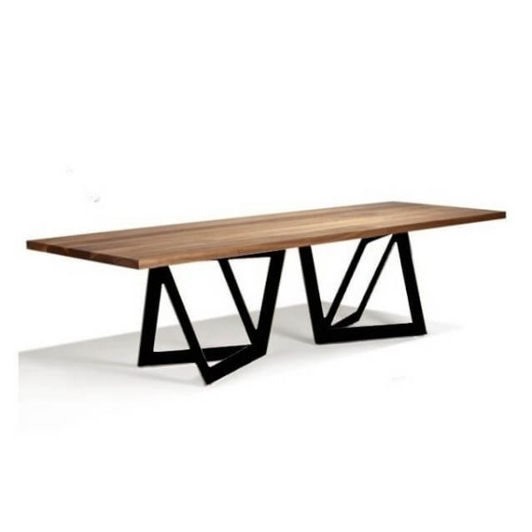 Table de repas Massive | tables basses de Jardin | Grande ...