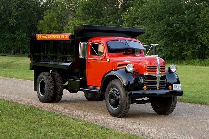 1947 Dodge 25 Ton Dump Truck Model Wja Vintage Trucks Picture