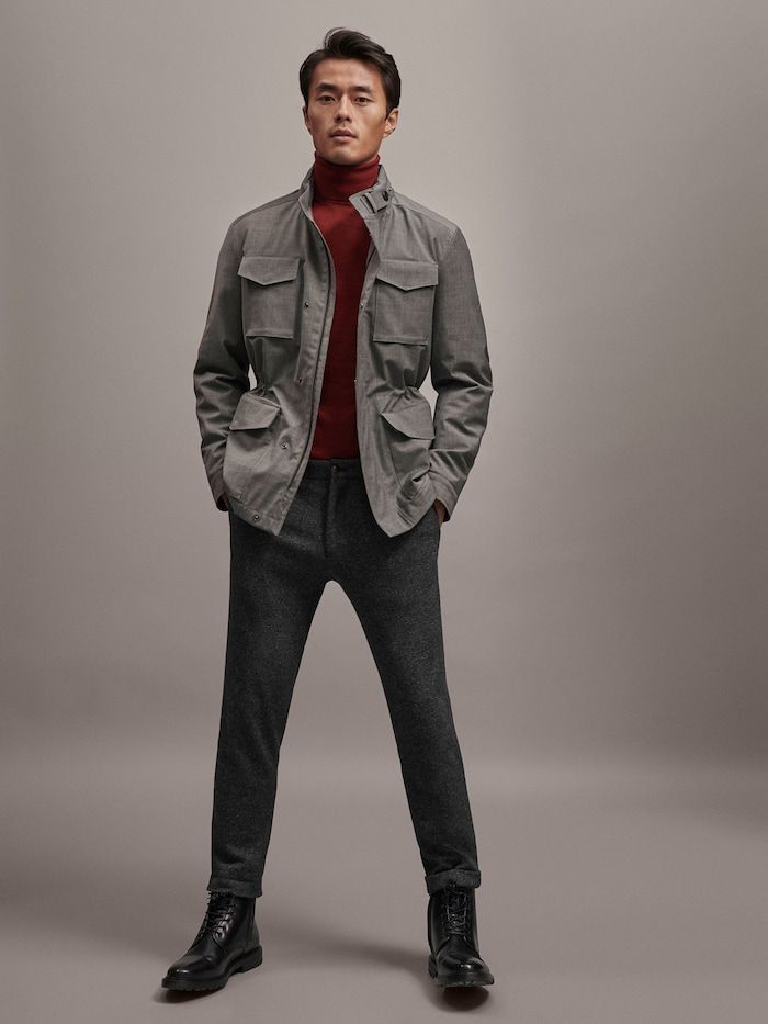 9042f4386b96 Men's Outerwear | Massimo Dutti Spring Summer 2019 | Interesting ...