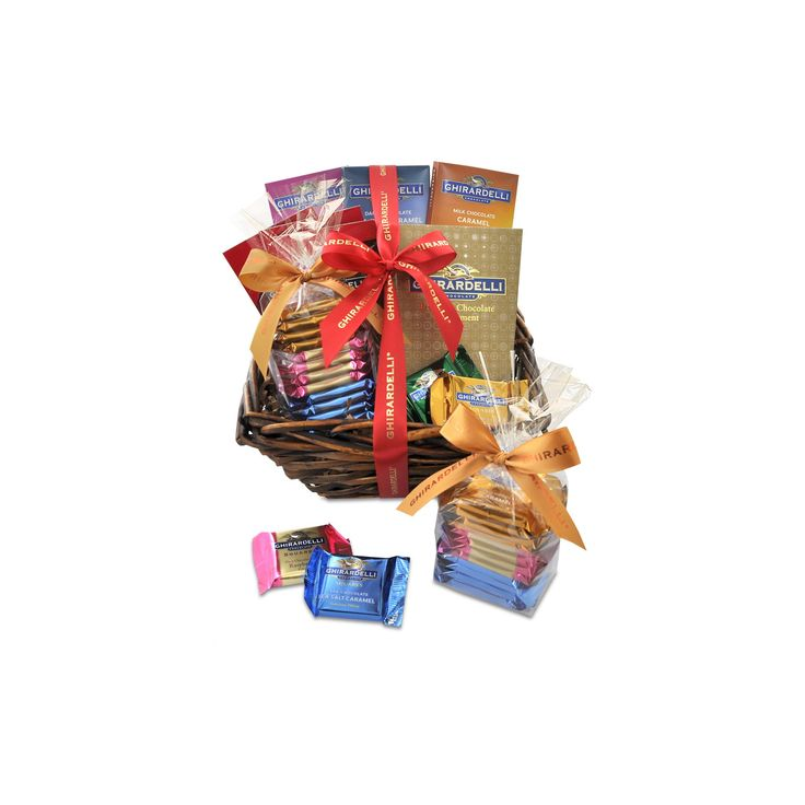 Ghirardelli all occasion chocolate gift basket chocolate