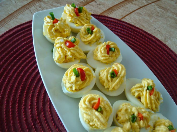 Potato Deviled eggs.