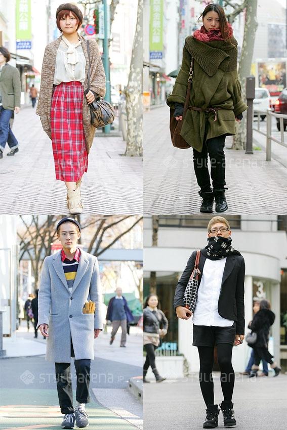 Vision On Fashion Japanese Street Fashion Part 4 Winter Style Ulzzang Fashion