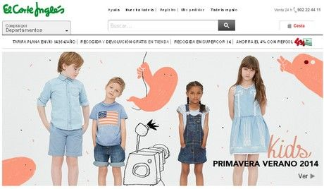 kids primavera verano 2014 elcorteingles ofertas catalogo promocion ropa moda niños rebajas
