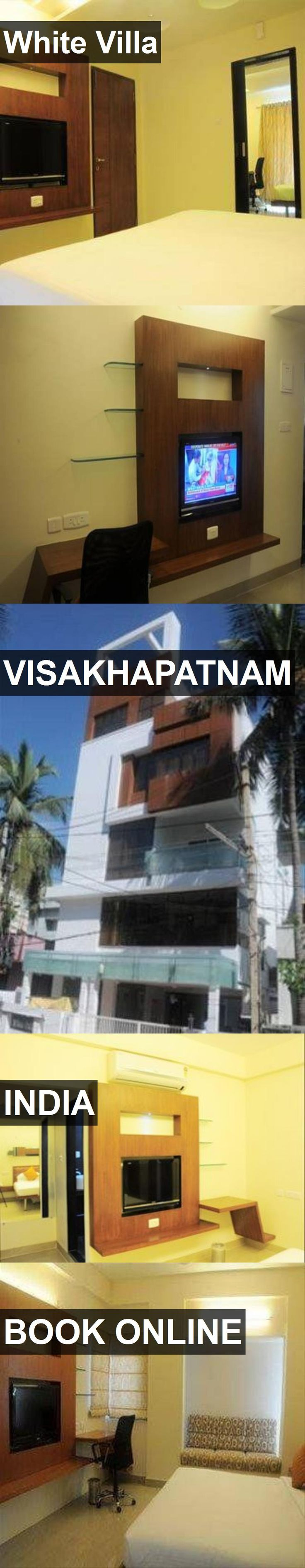 Hotel White Villa in Visakhapatnam, India. For more information, photos, reviews and best prices please follow the link. #India #Visakhapatnam #travel #vacation #hotel