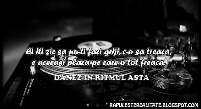 Rap Romanesc: Danez- In Ritmul Asta
