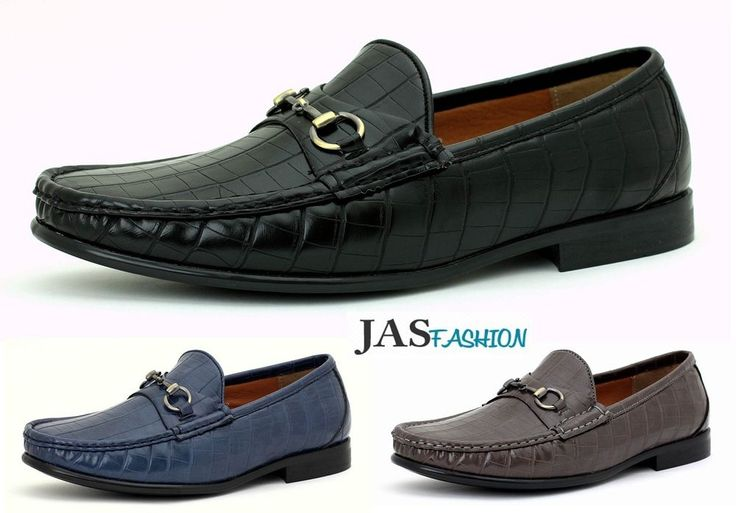 Mens Casual Designer Loafers Slip On Fashion Shoes Smart Driving Moccasin Size