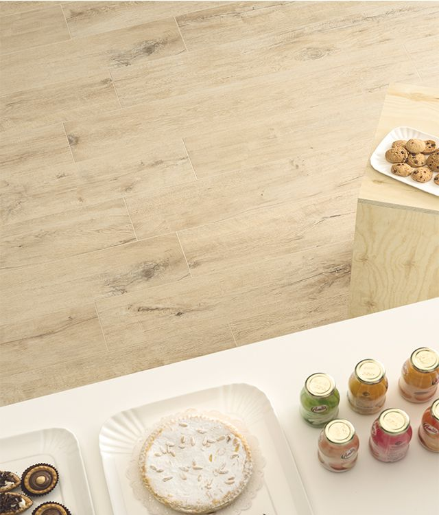 Get all the warmth of wood with these timber look tiles. #sydneytiles #colortile #kitchendesigninspiration