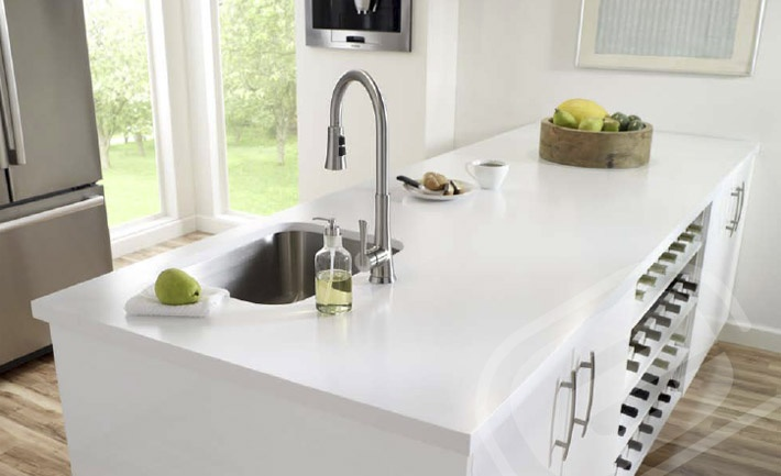 Pictures Of Kitchen Sinks And Countertops