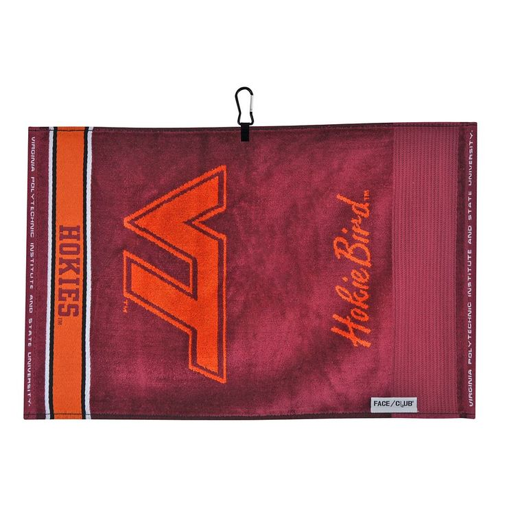 Team Effort Virginia Tech Hokies Jacquard Towel, Multicolor