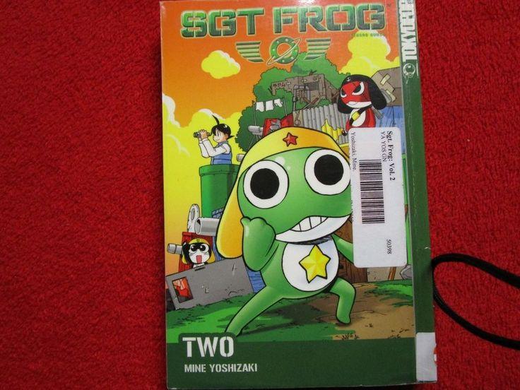Sgt Sergeant Frog Tokyopop Manga book volume # 2 two