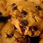 Pumpkin Chocolate Chip Cookies. with walnuts. soo good and healthy ;-)