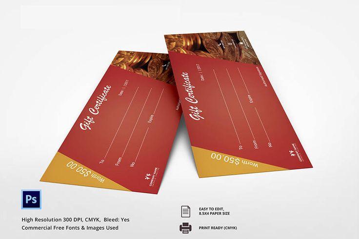 7+ Free Gift Certificate Templates (Spa, Restaurant, Travel) | Free & Premium Templates
