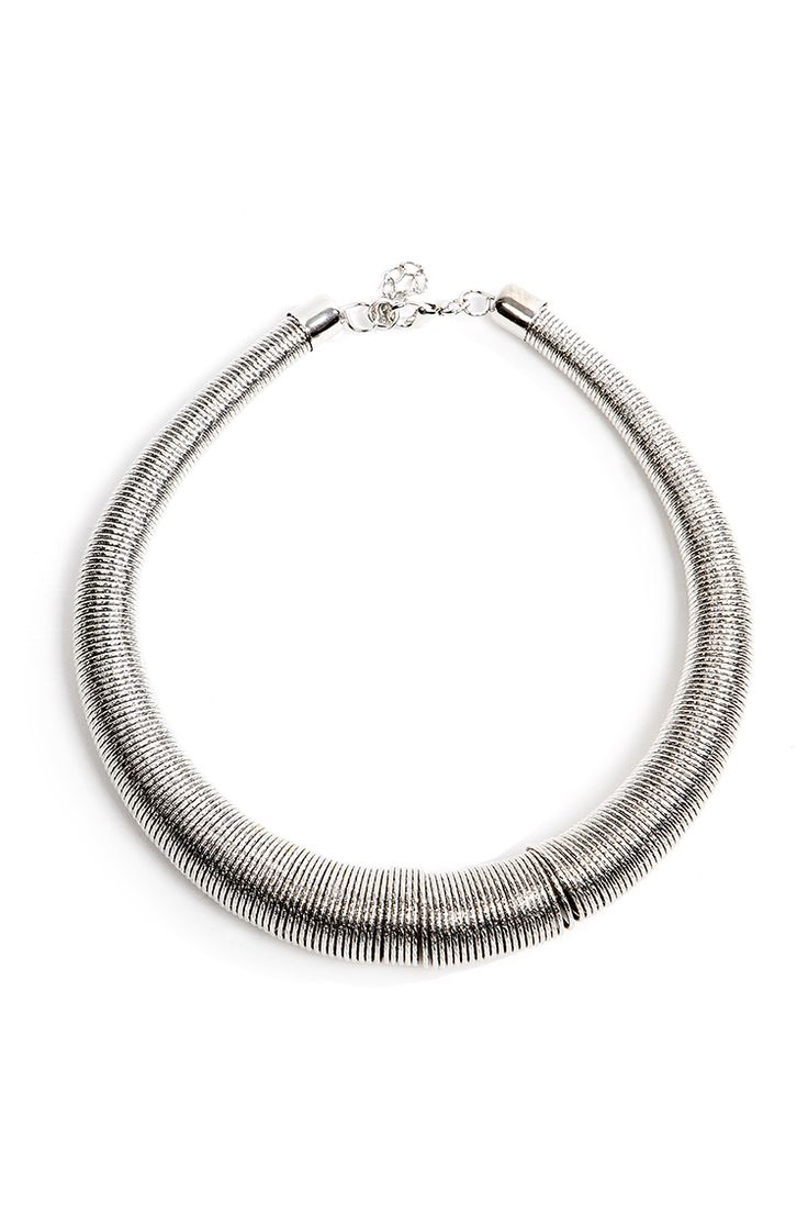 Collar Silver Necklace