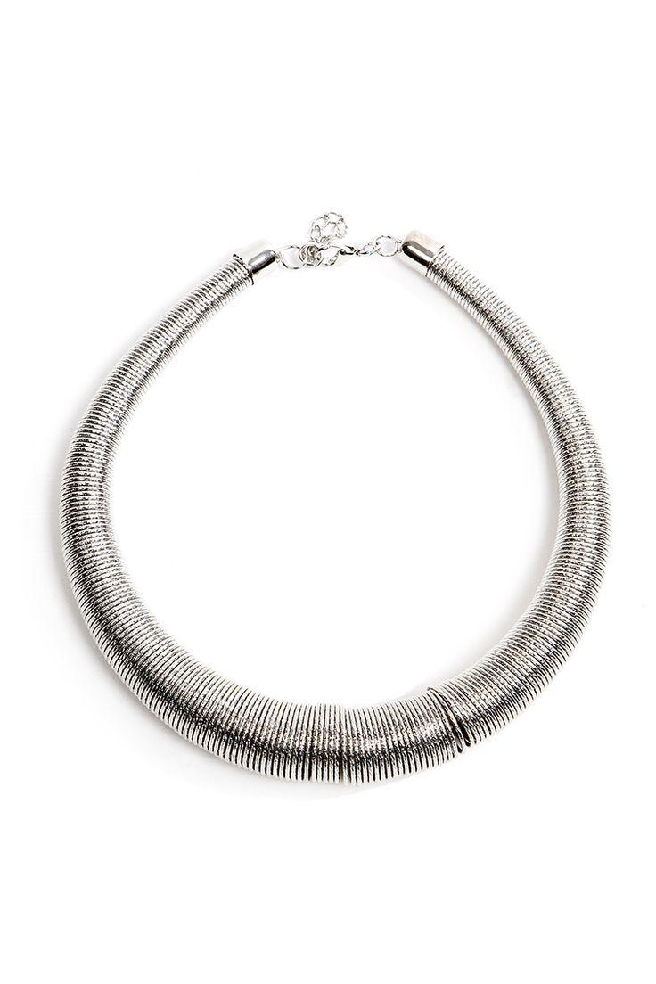 Collar Silver Necklace