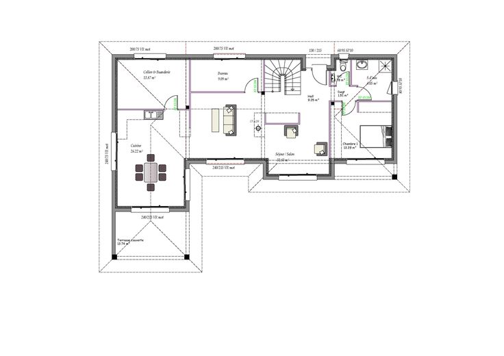 37 best 1 maison plan images on Pinterest Homes, Money and Villas